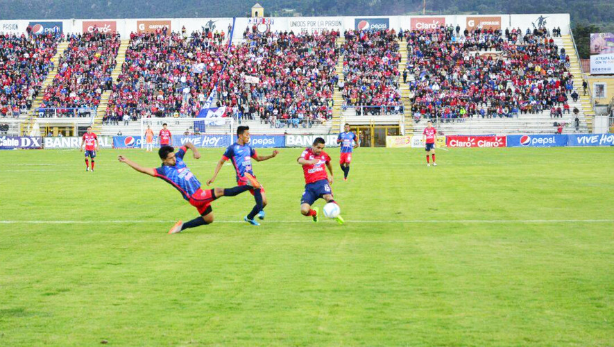 Partido de Xelajú vs Malacateco por el Torneo Apertura| Agosto 2017