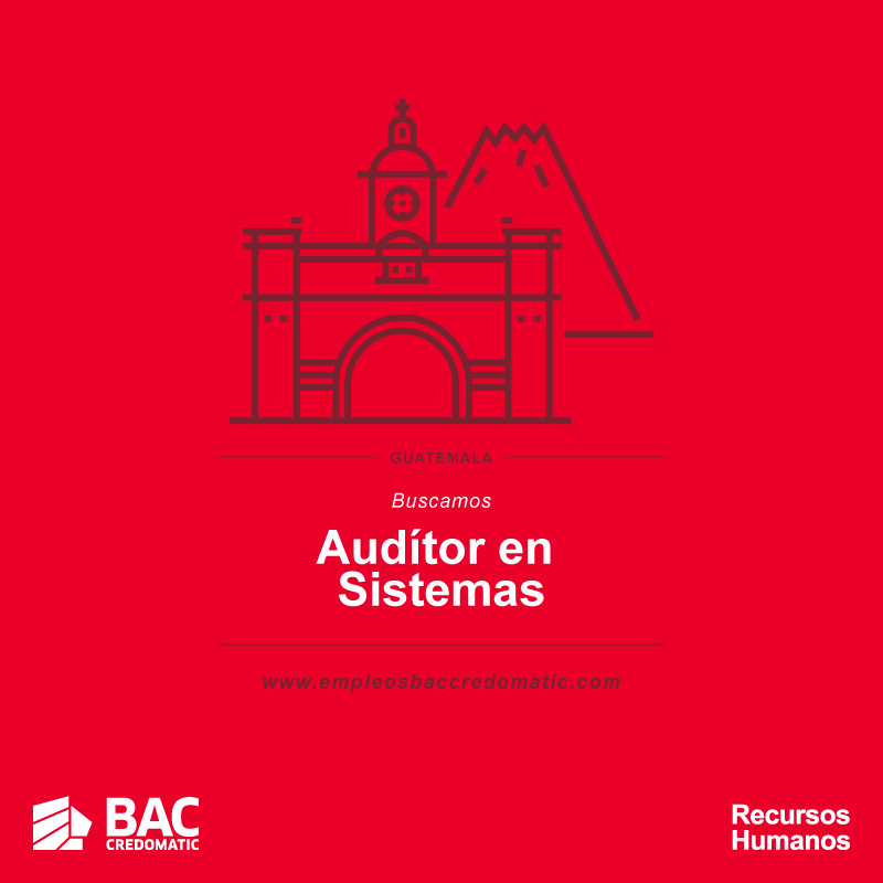 BAC Credomatic empleos disponibles en Guatemala