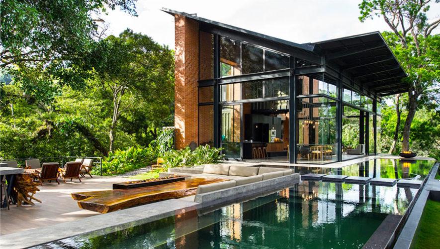 Casa ecco lujosas instalaciones ecol gicas hoteles for Casa minimalista guatemala