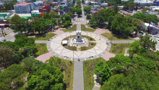 Inauguran la Plaza España en la Ciudad de Guatemala, septiembre 2017