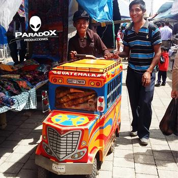 Joven crea carreta de helados en forma de camioneta en Chimaltenango
