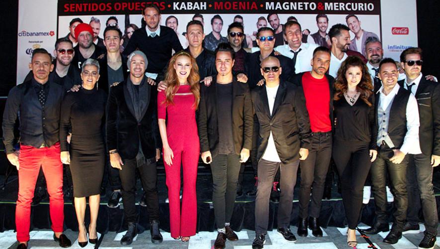 Kabah, Magneto, Mercurio, Sentidos Opuestos y Moenia realizarán concierto en Guatemala