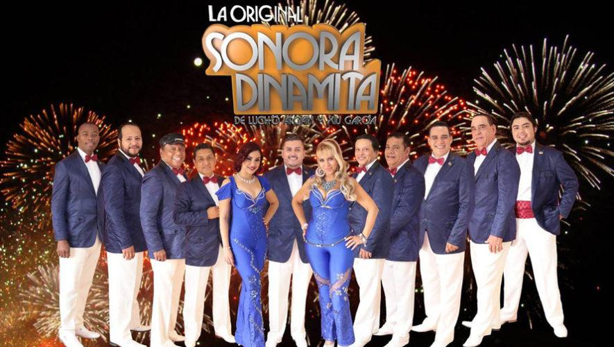 La Original Sonora Dinamita ofrecerá un concierto en Guatemala