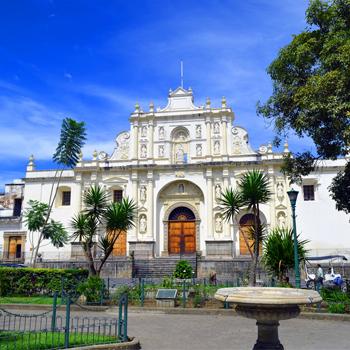 La catedral Antigua Guatemala