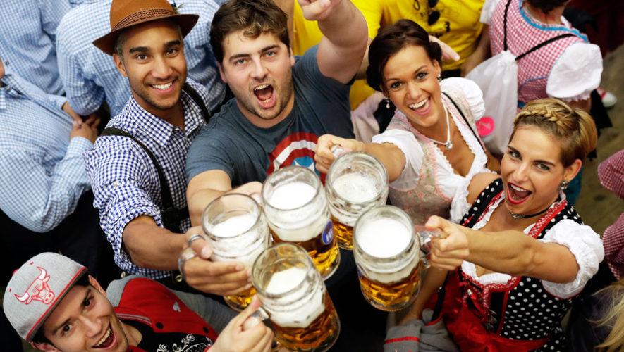 Oktoberfest 2017 festivales en Guatemala por el mes de la cerveza