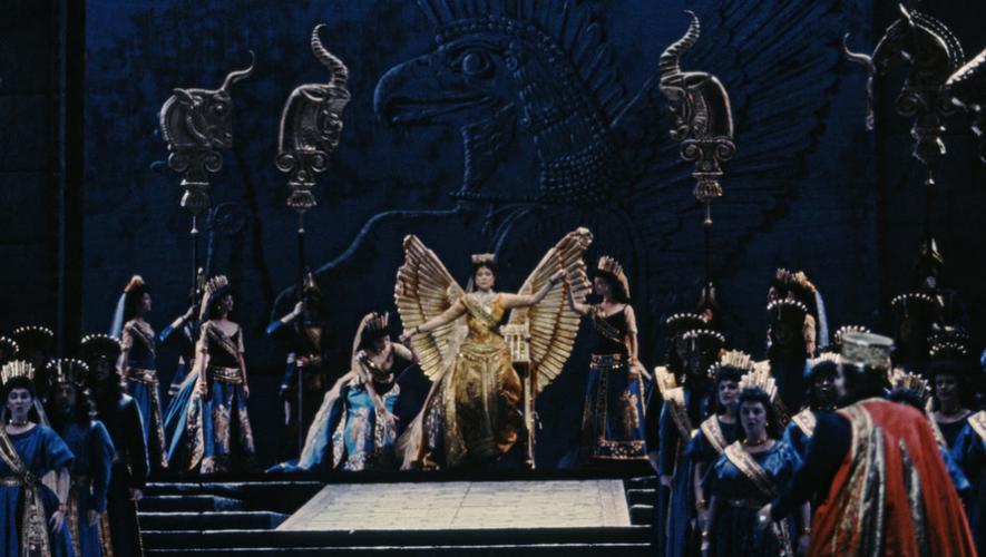 Proyección de Ópera Semiramide en Teatro Dick Smith | Marzo 2018