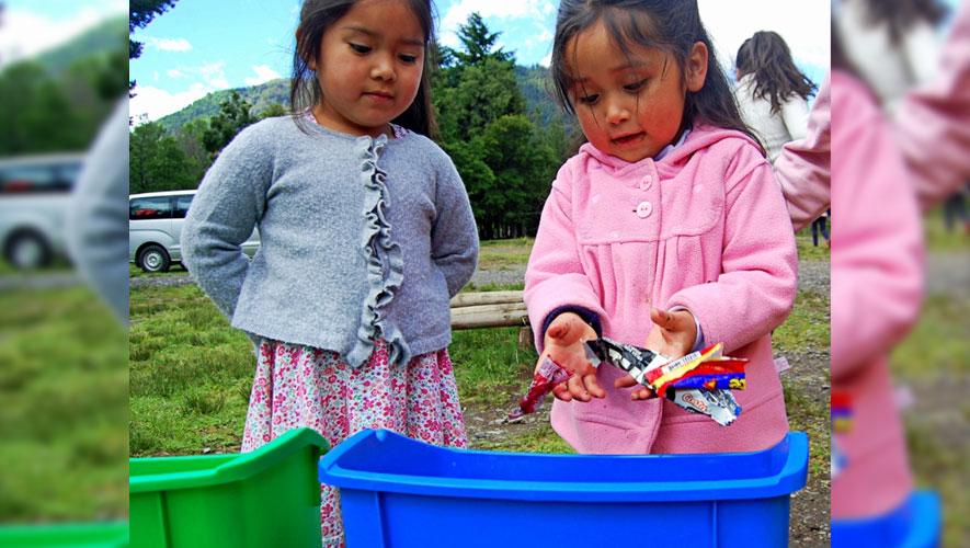 Panajachel recicla desechos sólidos para reducir la contaminación