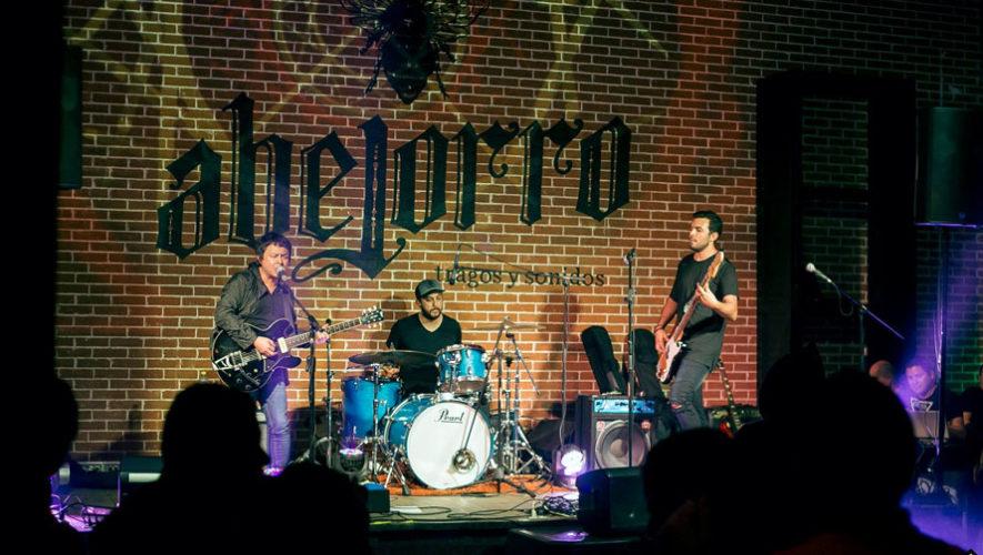 Concierto de rock en Abejorro