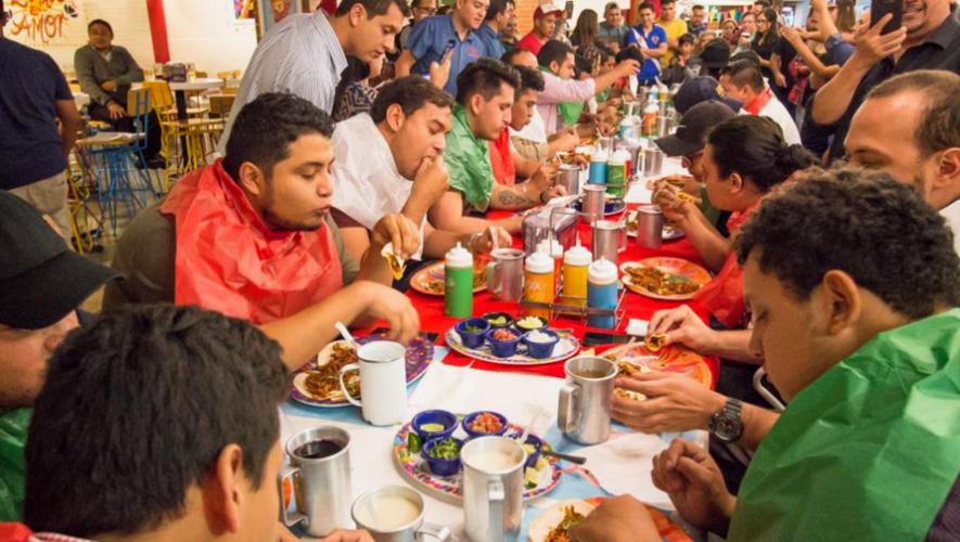 All You Can Eat de tacos y cerveza | Septiembre 2017