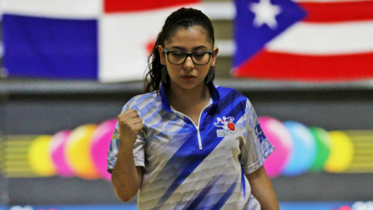 Ana Morales en Panamericano Juvenil de Boliche 2017