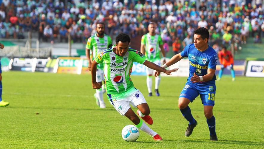 Partido de Antigua vs Cobán por el Torneo Apertura  Septiembre 2017