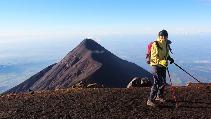 Ascenso a volcanes de Fuego y Acatenango   Septiembre 2017