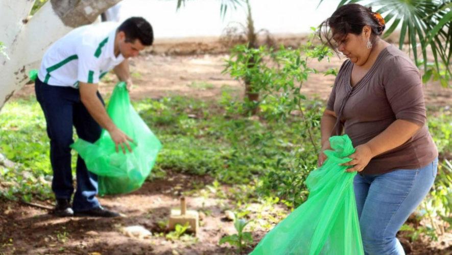 Voluntariado de limpieza en Quetzaltenango | Octubre 2017