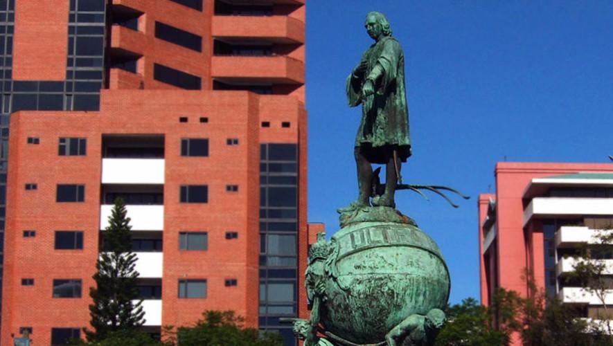 Recorrido guiado por monumentos de Avenida Las Américas   Septiembre 2017