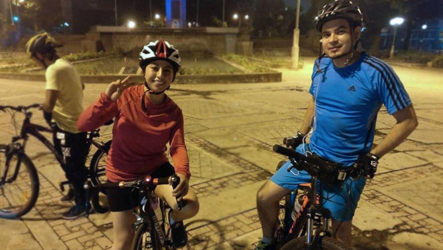 Bicirol nocturno en el Día Mundial Sin Auto | Septiembre 2017