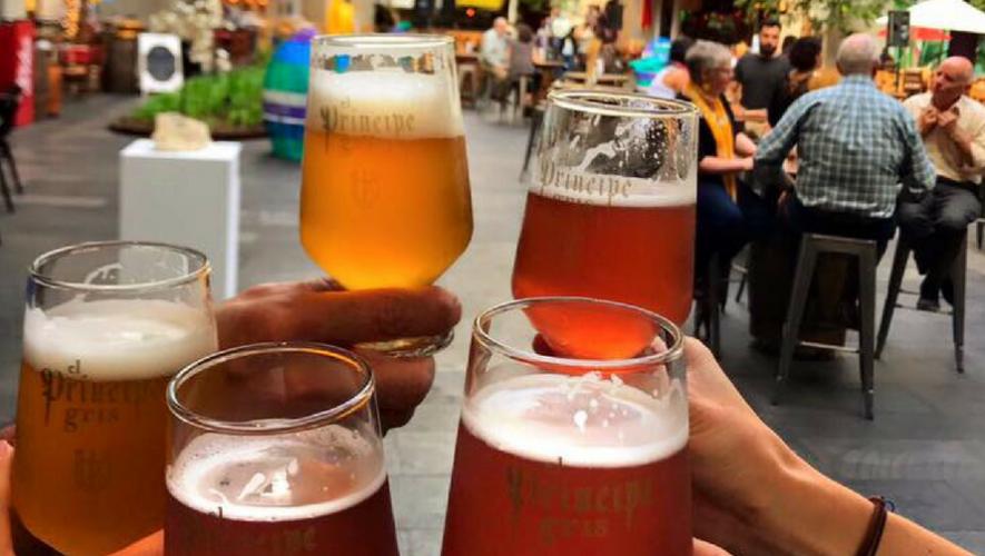 Cerveza Príncipe Gris en Rooftop Oakland Mall | Septiembre 2017