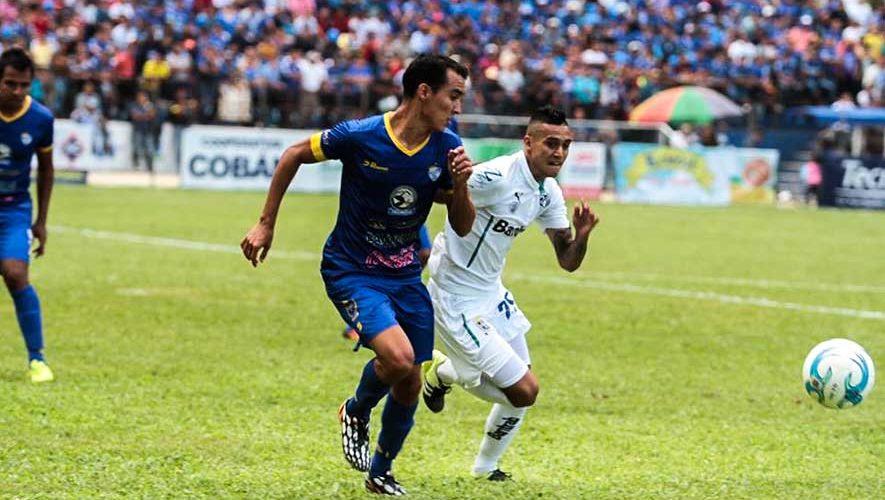 Partido de Cobán y Comunicaciones por el Torneo Apertura | Septiembre 2017