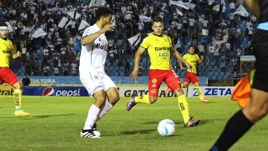 Partido de Comunicaciones y Marquense por el Torneo Apertura   Septiembre 2017