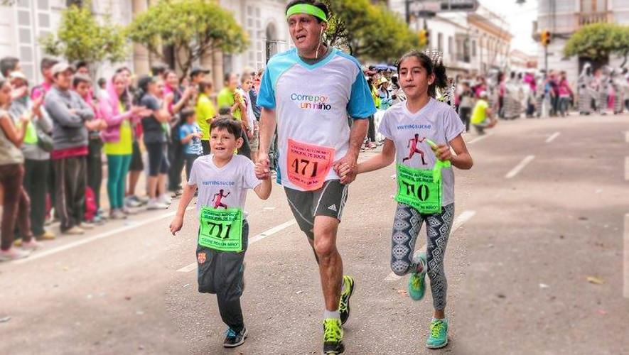 Carrera Corre por un Niño en Ciudad de Guatemala | Septiembre 2017