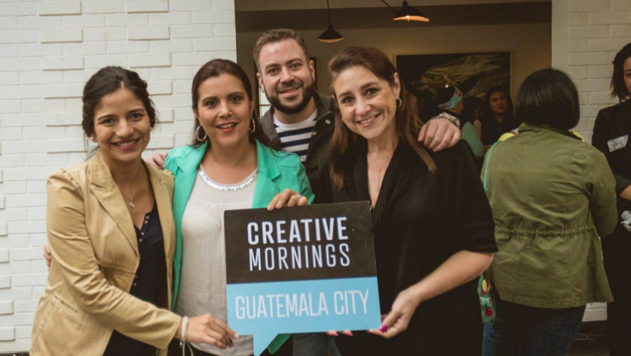 "Conferencia ""Creative Mornings"" con Juan Carlos Molina 