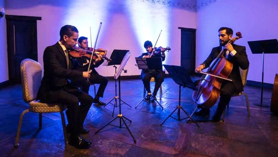Presentación gratuita de Cuarteto Asturias en Antigua Guatemala | Marzo 2018
