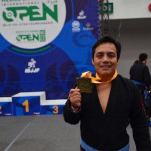 Oscar Cum en Open Mexicano de Jiu Jitsu 2017