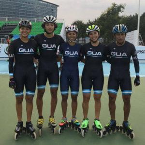 Delegación de Guatemala en Campeonato Mundial de Patinaje 2017