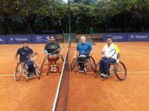Dobles en el Sao Paulo Open de Tenis Adaptado 2017