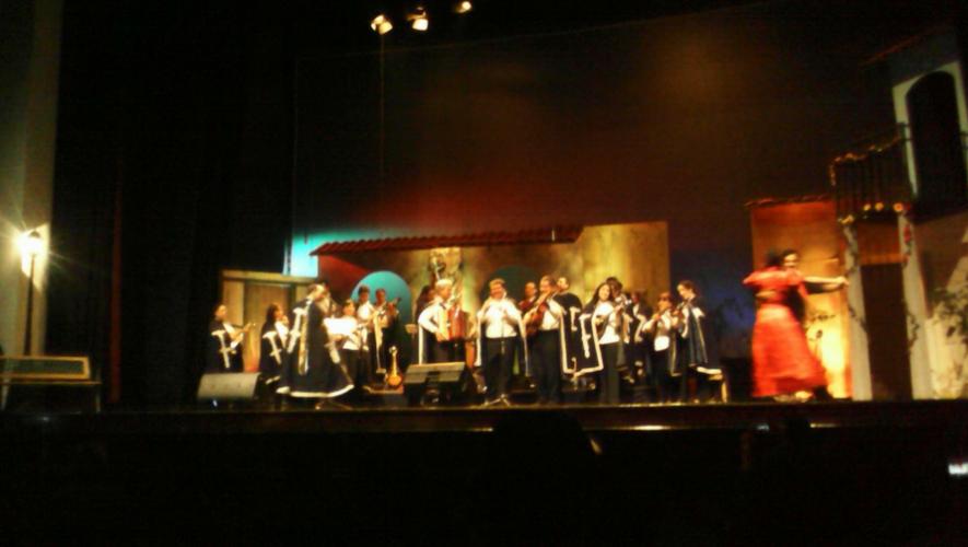 Festival de Estudiantinas en Centro Cultural Miguel Ángel Asturias | Septiembre 2017