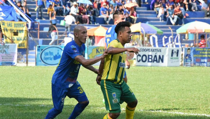 Partido de Cobán y Guastatoya por el Torneo Apertura | Octubre 2017
