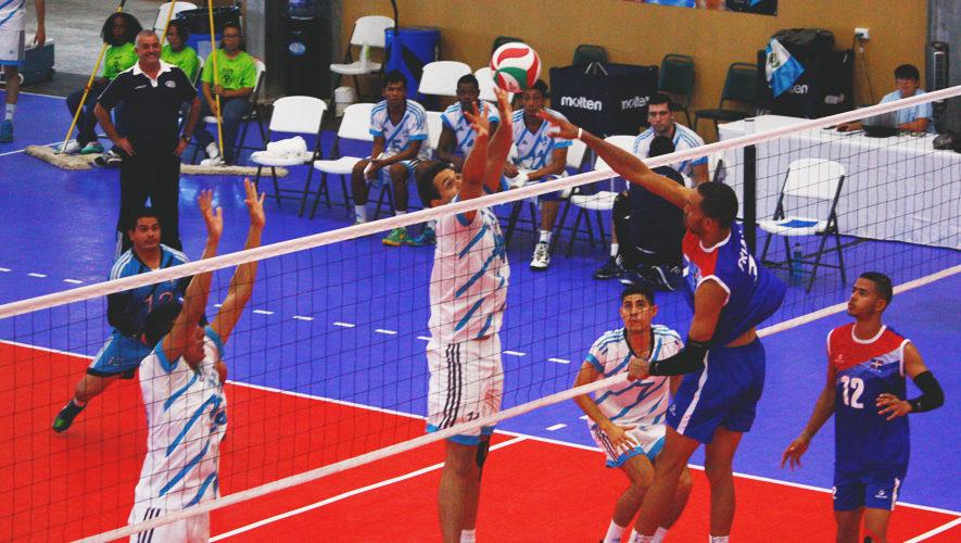 Guatemala en Campeonato Continental Norceca de Voleibol 2017
