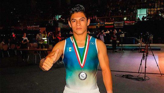 Plata de Vega en Copa Mundo de Gimnasia 2017