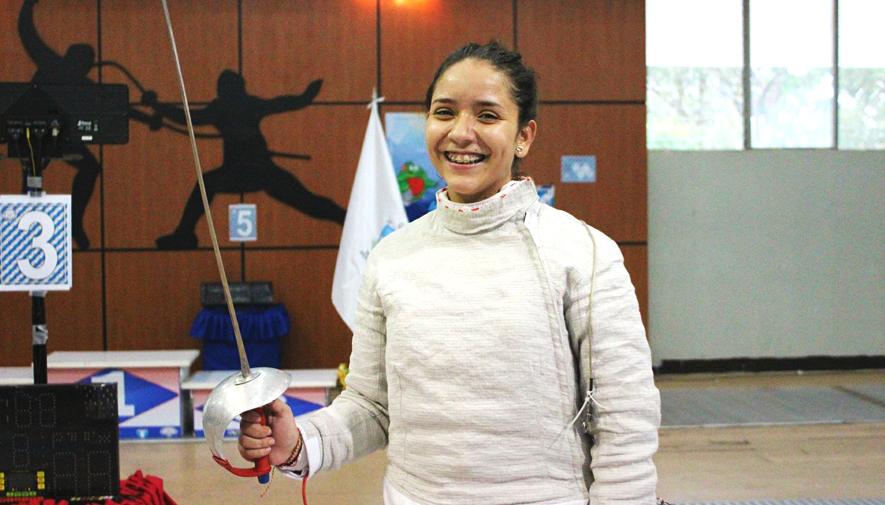 Fraatz en Copa del Mundo Juvenil de Esgrima