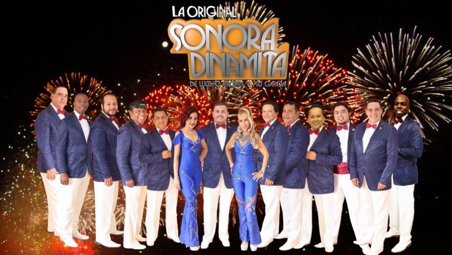 Concierto de La Original Sonora Dinamita en Guatemala | Noviembre 2017