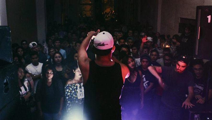 Show de rap guatemalteco en Malabar | Octubre 2017