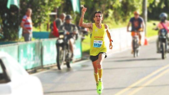 Luis Rivero en Carrera 11K del Odontólogo 2017 en Costa Rica