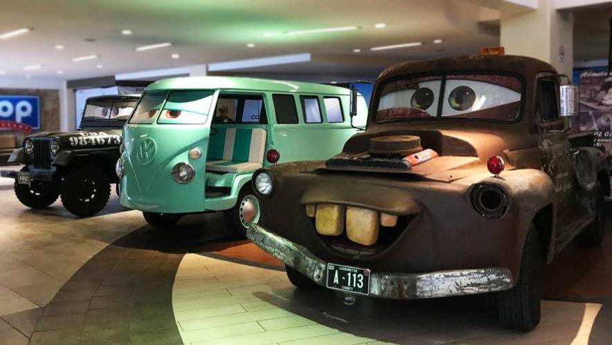 Exposición de carros de la película Cars | Octubre 2017