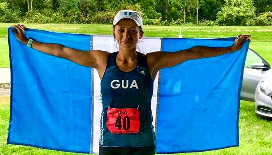 Mayra Herrera con récord de América en marcha 50 km