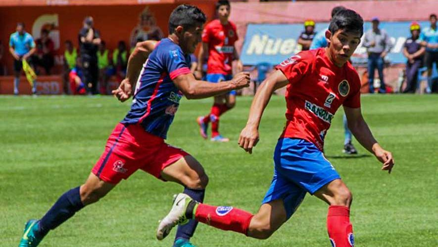 Partido de Municipal y Malacateco por el Torneo Apertura | Septiembre 2017