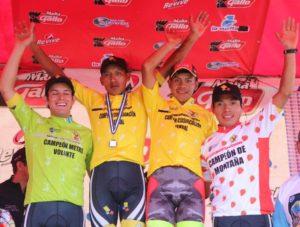 Ganadores de la Pre Vuelta Chimazat de Ciclismo 2017