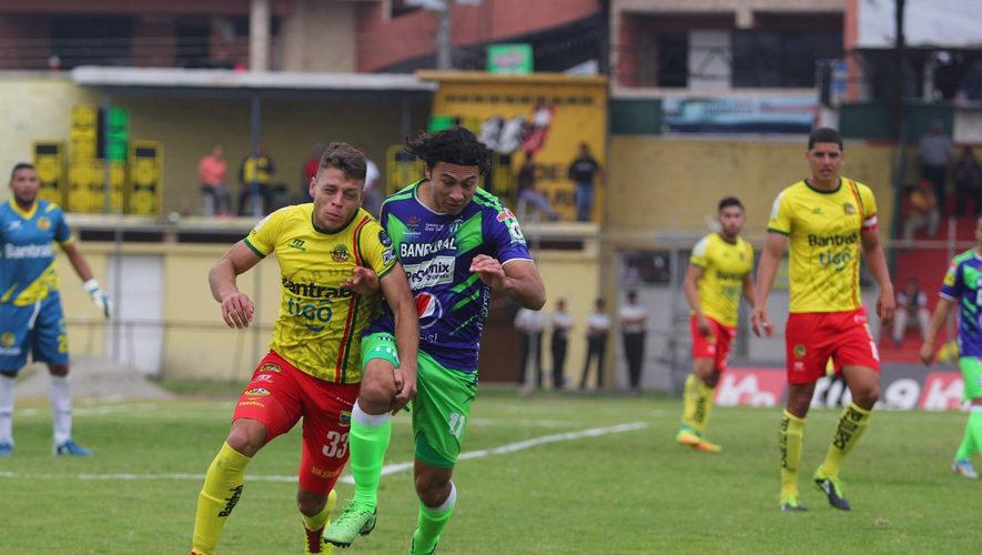 Partido de Marquense y Antigua por el Torneo Apertura | Octubre 2017