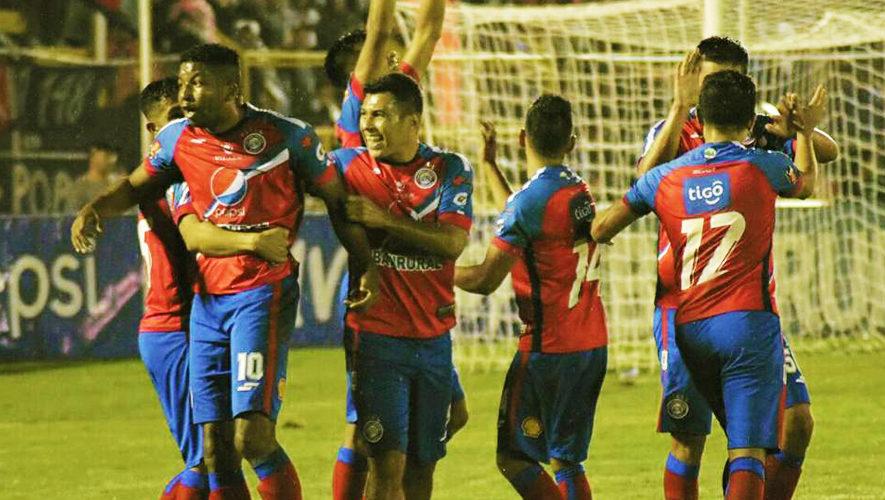 Partido de Xelajú y Petapa por el Torneo Apertura | Septiembre 2017