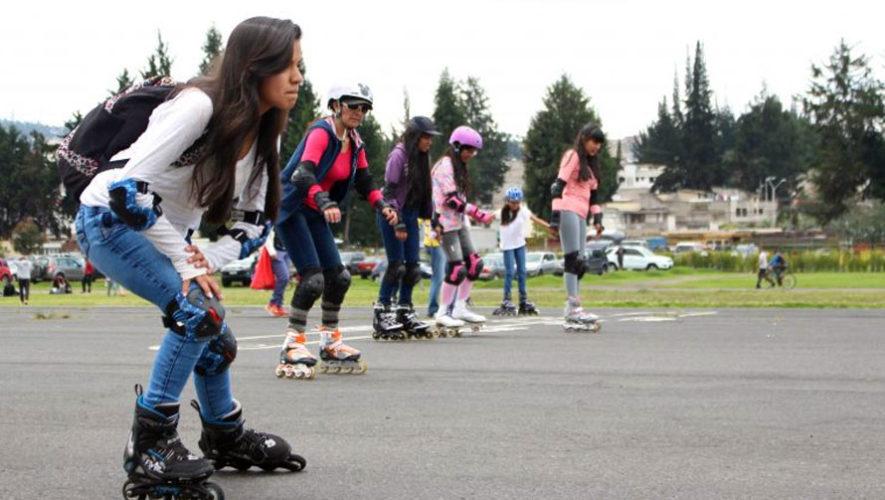 Maratón de patinaje en Mixco | Septiembre 2017