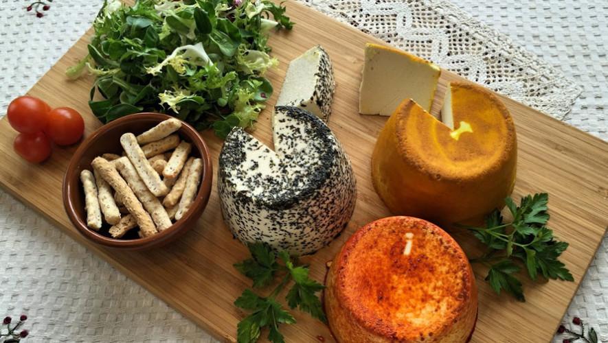 Taller para crear quesos veganos en Antigua Guatemala| Septiembre 2017