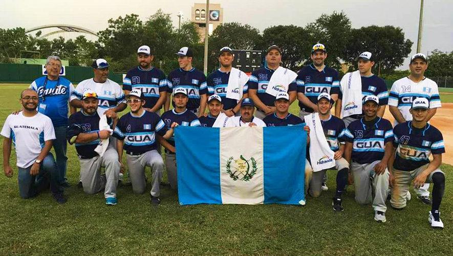 Guatemala en el Panamericano Masculino de Sóftbol 2017