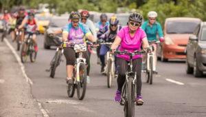 Paseo en bicicleta por la ciudad solo para mujeres | Junio 2018