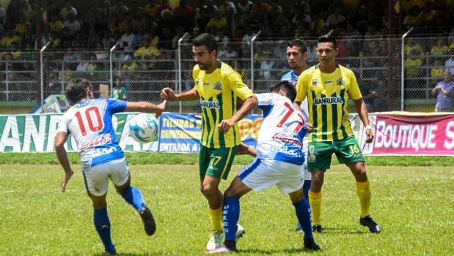 Partido de Suchitepéquez y Guastatoya por el Torneo Apertura | Septiembre 2017