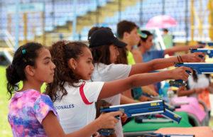 tiro en Juegos Nacionales de Pentatlón 2017