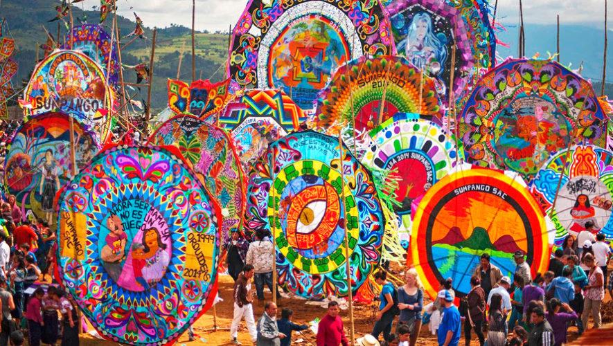 Barriletes gigantes de Sacatepéquez destacan en medio internacional
