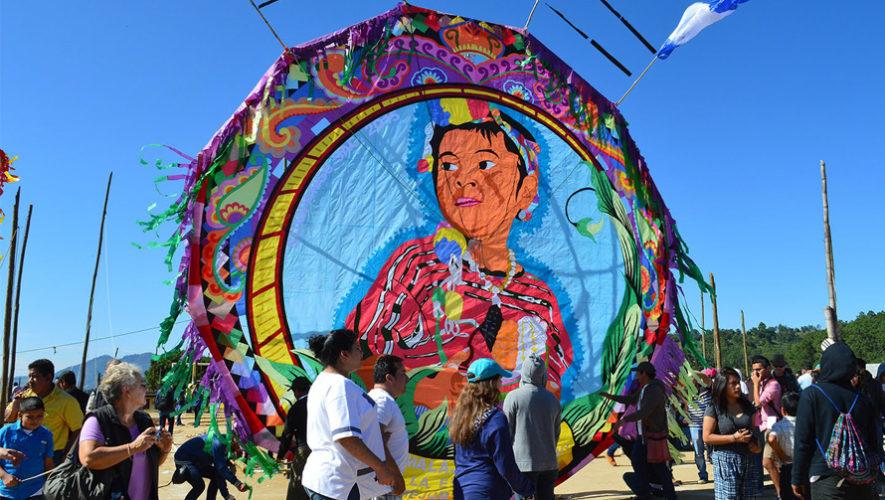Barriletes gigantes de Sacatepéquez destacan en medio internacional noviembre